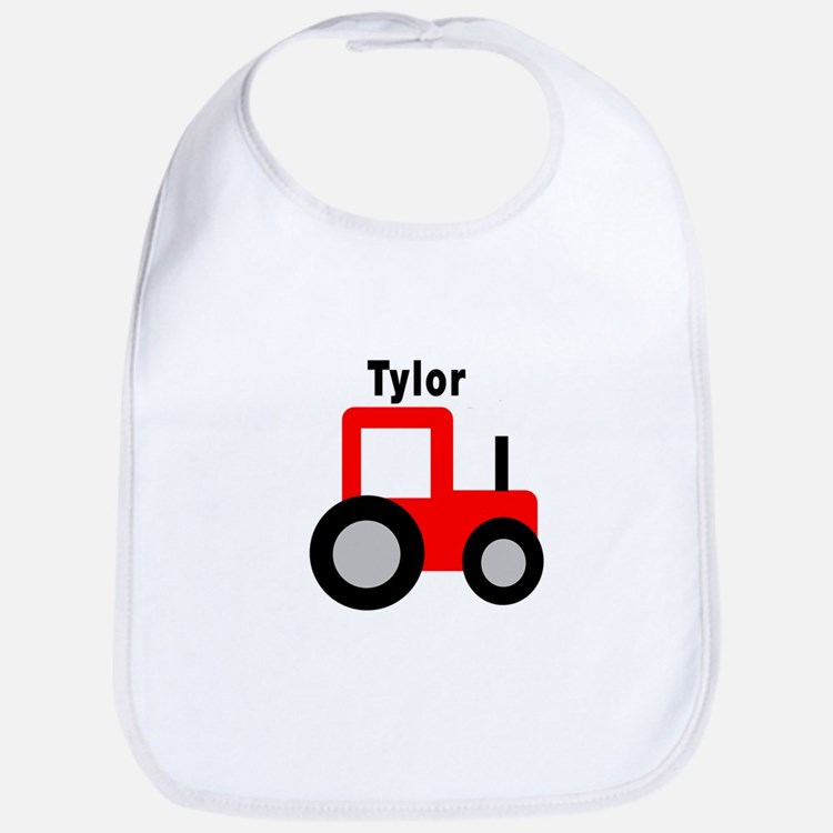 Tylor - Red Tractor Bib