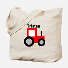 Tristan - Red Tractor Tote Bag