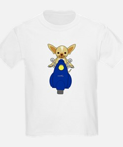 Small But Mighty Scooter Dog T-Shirt
