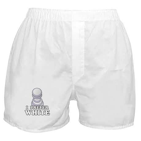 Chess - I Prefer White Boxer Shorts