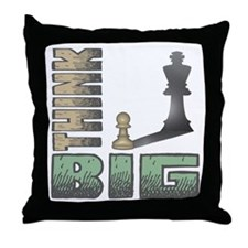 Chess - Think Big Throw Pillow