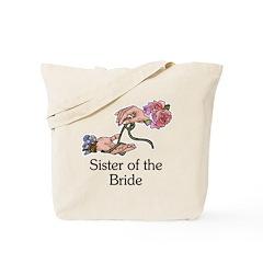 Handfasting Sister of the Bride Tote Bag