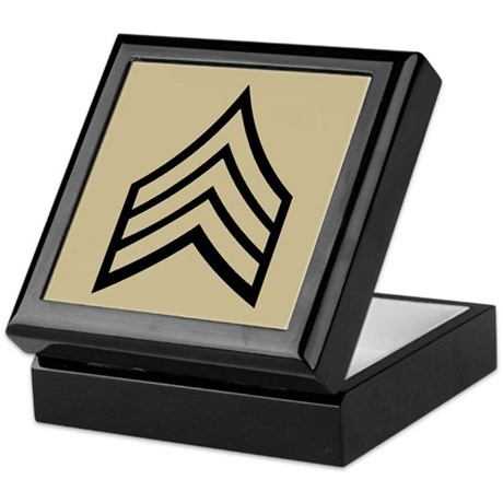 Sergeant<BR> Keepsake Box 2