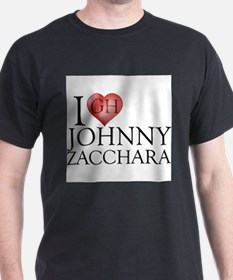 I Heart Johnny Zacchara T-Shirt