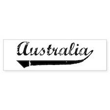 Australia (vintage) Bumper Bumper Sticker