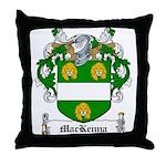 MacKenna Family Crest Throw Pillow
