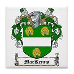 MacKenna Family Crest Tile Coaster