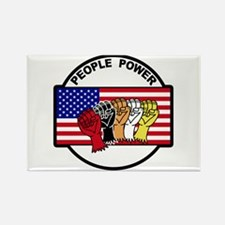 People Power Rectangle Magnet