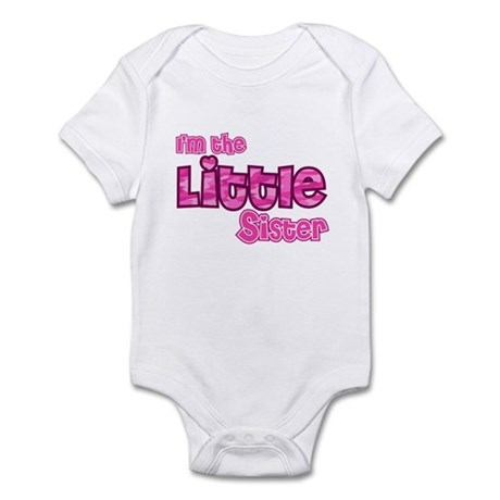 I'm the Little Sister Infant Bodysuit