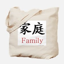 Family Symbol Tote Bag