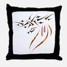 Thorns Of Sacrifice Throw Pillow