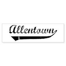 Allentown (vintage) Bumper Bumper Sticker