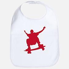 Skateboarder vintage Bib