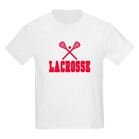 Red Lacrosse Kids Light T-Shirt