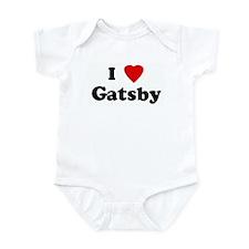 I Love Gatsby Onesie