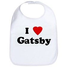 I Love Gatsby Bib