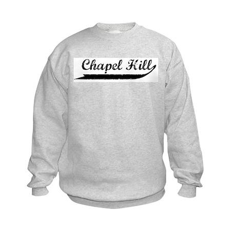 Chapel Hill (vintage) Kids Sweatshirt