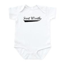 Fort Worth (vintage) Infant Bodysuit