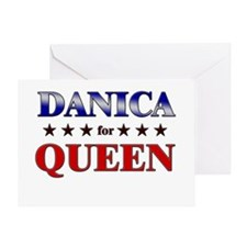 DANICA for queen Greeting Card