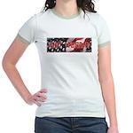Got Torah w/American Flag Jr. Ringer T-Shirt