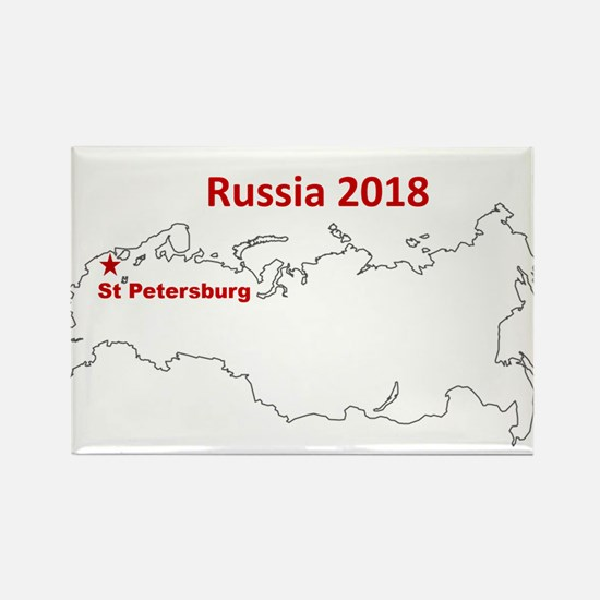 St Petersburg, Russia 2018 Magnets