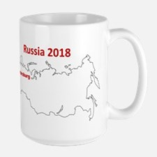 St Petersburg, Russia 2018 Mugs