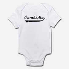 Cambodia (vintage) Infant Bodysuit
