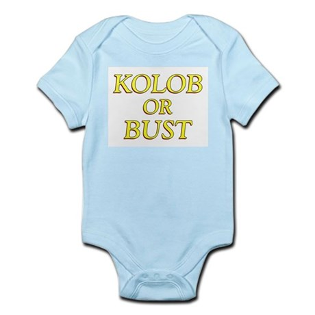 LDS Planet- Kolob or Bust Shi Infant Creeper