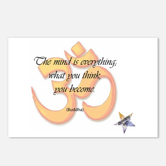 The Mind is Everything Postcards (Package of 8)