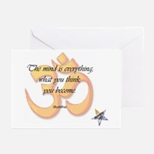 The Mind is Everything Greeting Cards (Pk of 10)
