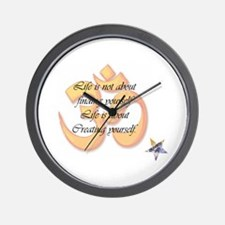 Creating Yourself Wall Clock