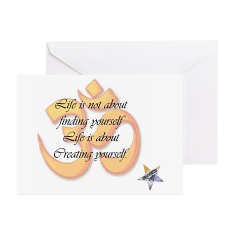 Creating Yourself Greeting Cards (Pk of 10)