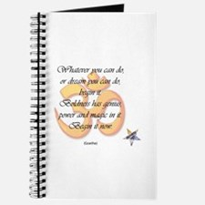 Begin It Now Journal