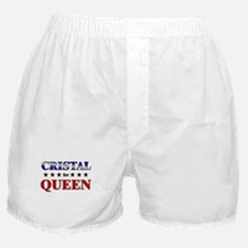 CRISTAL for queen Boxer Shorts