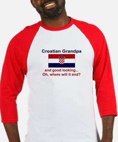 Good Looking Croatian Grandpa Baseball Jersey