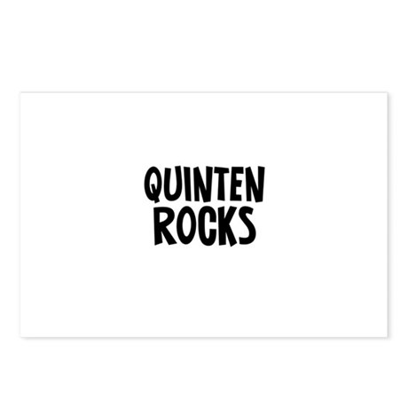 Quinten Rocks Postcards (Package of 8)