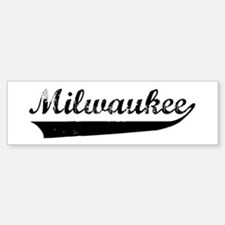 Milwaukee (vintage) Bumper Car Car Sticker