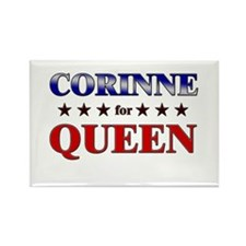 CORINNE for queen Rectangle Magnet