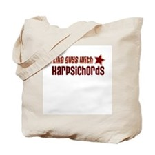 I like guys with Harpsichords Tote Bag