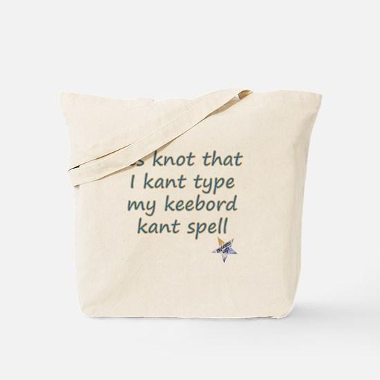 Kant Type Tote Bag