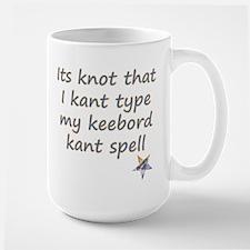 Kant Type Large Mug