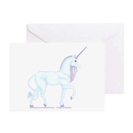Magic Unicorn Picture Greeting Cards (Pk of 10)