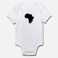 African Heart Infant Bodysuit