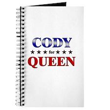 CODY for queen Journal