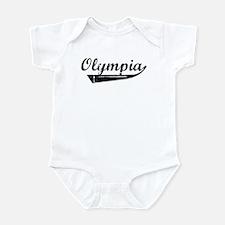 Olympia (vintage] Infant Bodysuit