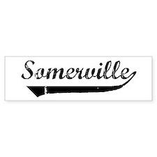Somerville (vintage] Bumper Bumper Sticker