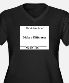 Make a Difference Plus Size T-Shirt