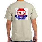 Stop Liberalism Conservative Ash Grey T-Shirt