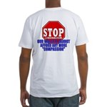 Stop Liberalism Conservative Fitted T-Shirt