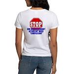Stop Liberalism Conservative Women's T-Shirt